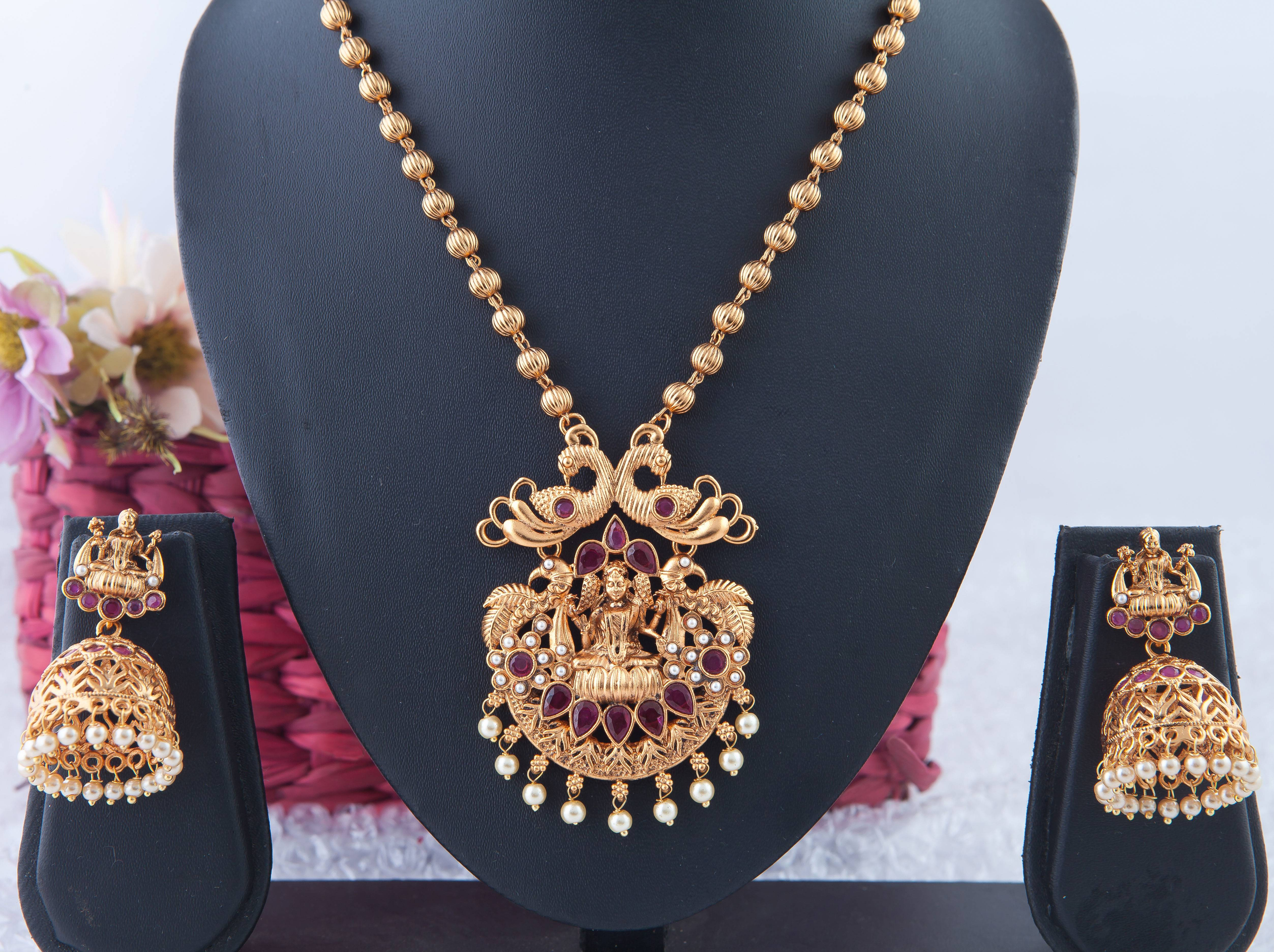 CHETTINAD NECKLACE NKCH - 28 - 056082011