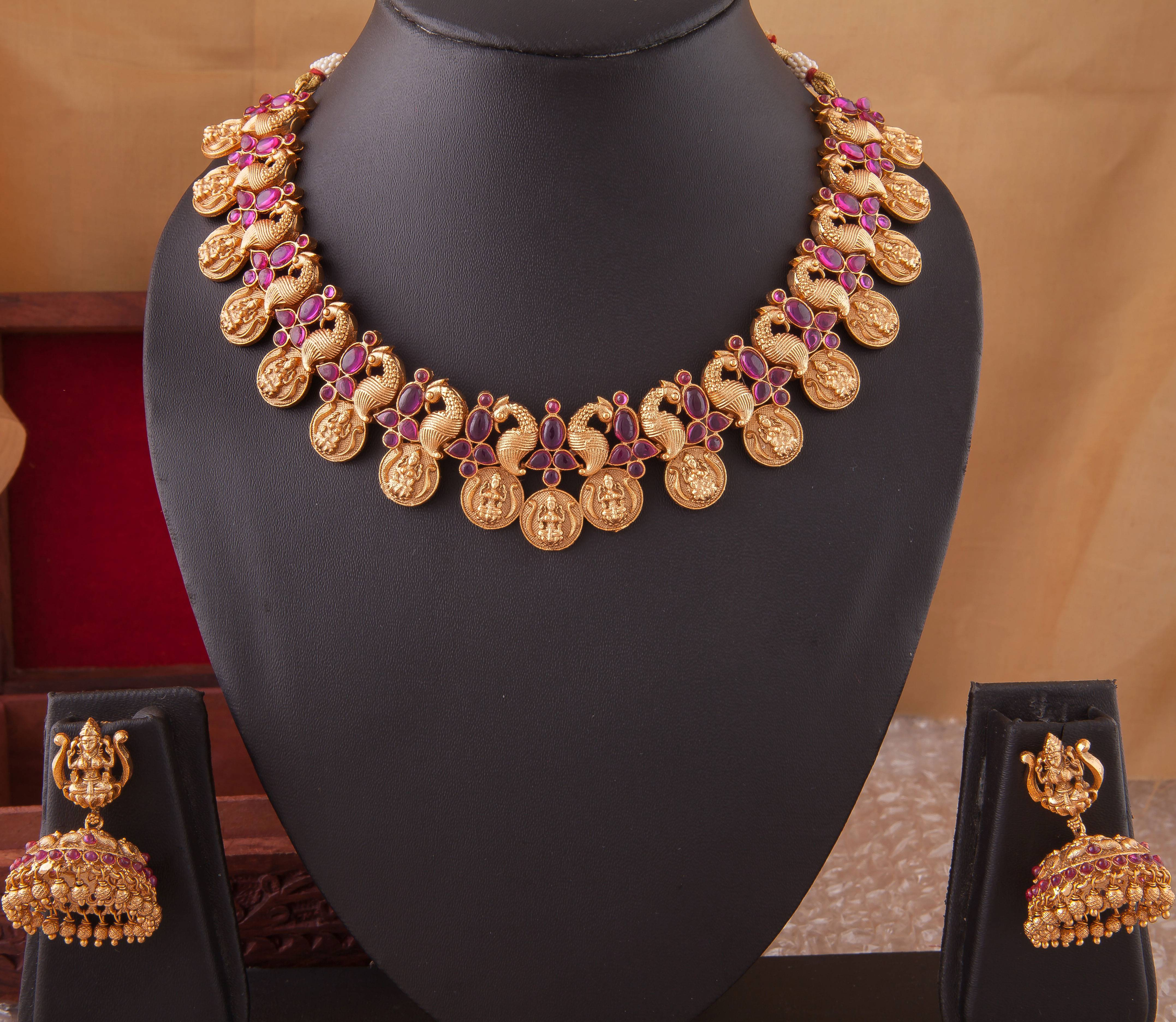 CHETTINAD NECKLACE NKCH - 29 - 05610206