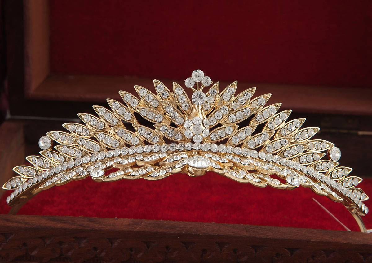 TIARA CROWN GOLD  TCG - 5 - 018041910