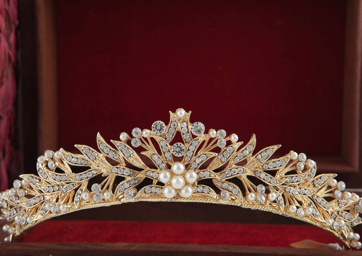 TIARA CROWN GOLD  TCG - 6 - 01804192