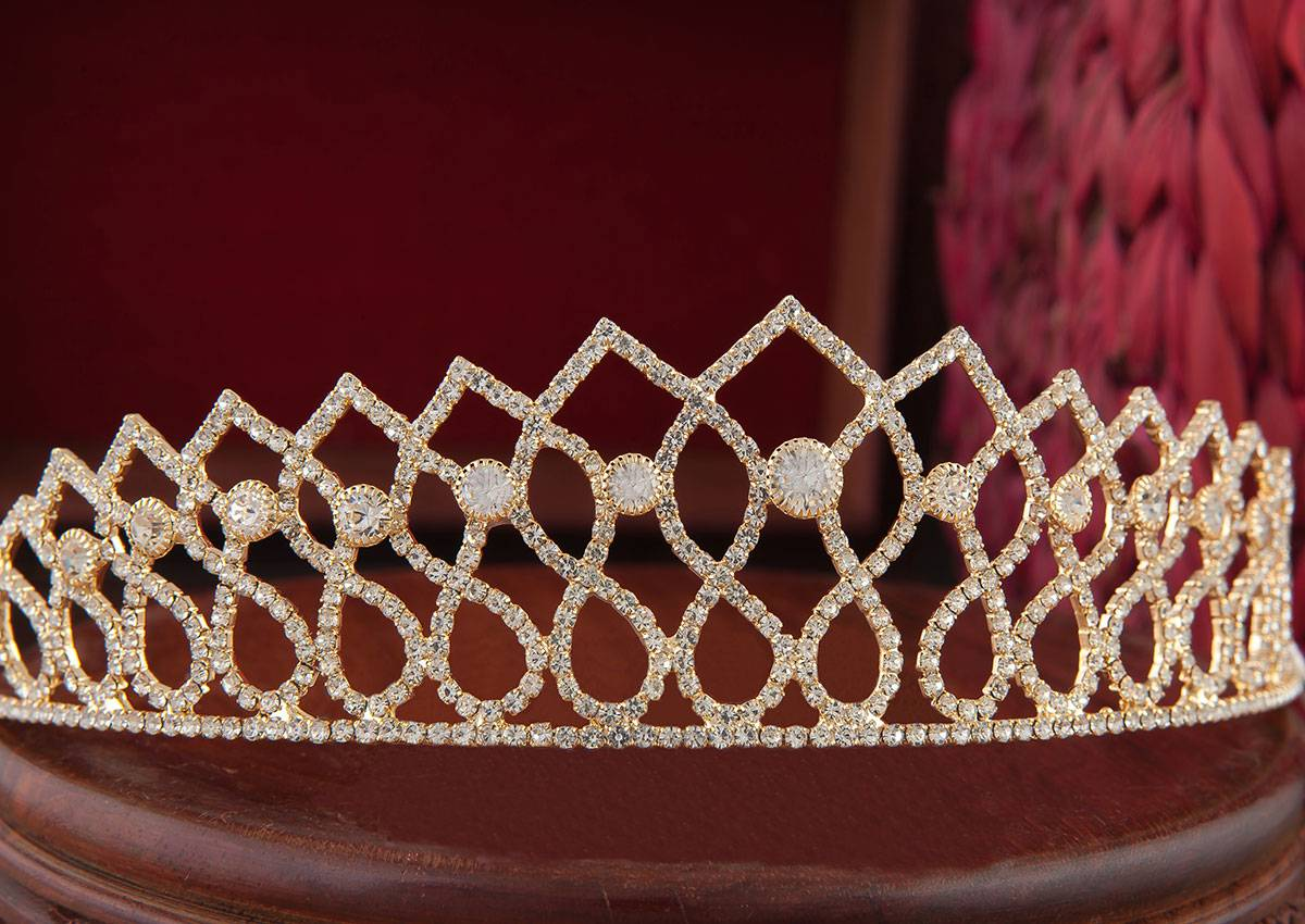 TIARA CROWN GOLD TCG - 4 - 01812198